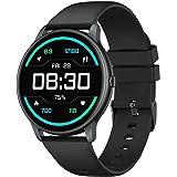 YAMAY Smartwatch Donna Uomo Orologio Fitness Cardiofrequenzimetro da Polso Fitness Tracker Contapassi Conta Calorie Impermeab