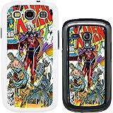 DC Cómics de Marvel funda para Samsung Nº 1, Magneto Professor X - G752 - White, Samsung Galaxy S3 i9300