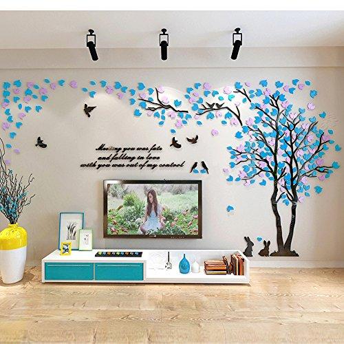Alicemall 3D Wandaufkleber Stereo Wandaufkleber Abnehmbare Wohnzimmer Schlafzimmer Kinderzimmer Sofa Hintergrund Wandtattoo Möbel - Muster 8