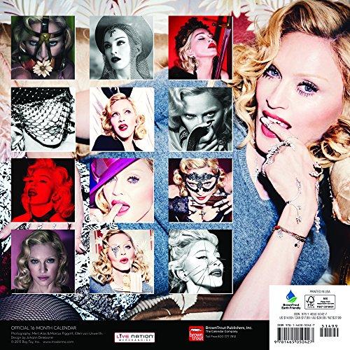 Madonna Calendar 2016 (Square Wall)