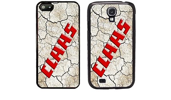 Coque CLAAS pour iphone 4 5 6 7 8 X et samsung S2 S3 S4 S5 S6 S7 ...