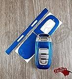 Sepang Bleu Clé pour télécommande smart Housse Audi A1A3A4A5A6A8TT Q35Q7