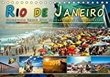 Rio de Janeiro, Olympische Spiele 2016 im brasilianischen Hexenkessel (Tischkalender 2019 DIN A5 quer): Eine Reise in die Stadt der vielen Gesichter, ... (Monatskalender, 14 Seiten ) (CALVENDO Orte)