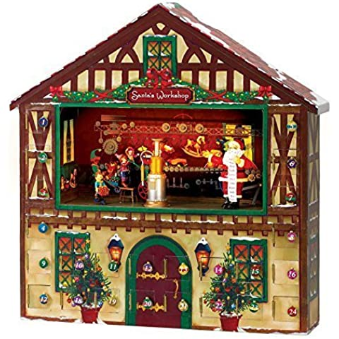 Mr. Christmas Animated Advent House by Mr. Christmas