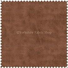 Yorkshire Fabric Shop Años Envejecido sintética Tela de Piel de Nobuck Suave Semi Ante Afelpada en