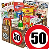 DDR Box & Markenbuch | Zahl 50 | Geschenkidee Mutter | Suesses Geschenkset