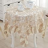 fwerq Tischdecke Tischdecke, Tischdecke bedeckt Handtuch TV-schrank Handtuch, im europäischen Stil gehaltenen Kaffee Tischdecke, siehe durch lace Tischdecke - 70 x 210 cm (28 x 83 Zoll)