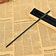 Cosplay Props Metal core Magic Wand, Harry Potter Series Ginny Weasley Wand Rod Wizard Training Wand for witch