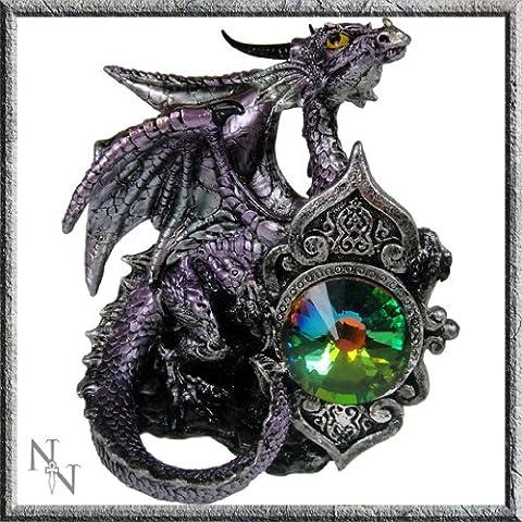 Dragon Violet Figurine ange gardien