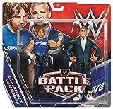 WWE Battle Pack Series 46 Action Figure - Dean Ambrose & Shane Mcmahon