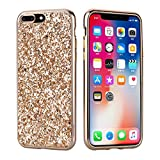 Coque iPhone 6 Plus / 6S Plus,Surakey Paillette Diamant Strass Brillante Bling...
