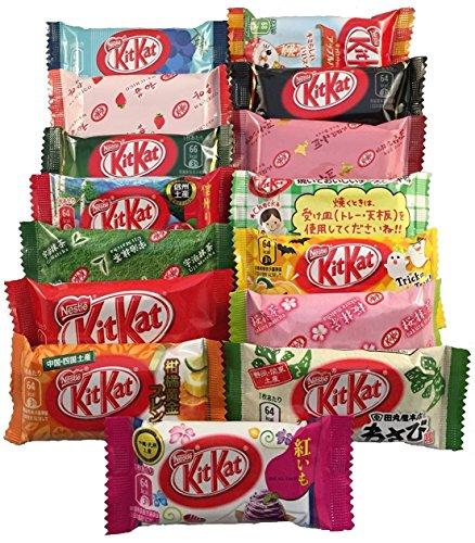 japanische-kit-kat-16-pack-auswahl-alle-anderen-geschmack-sortiment-tonosama-candy