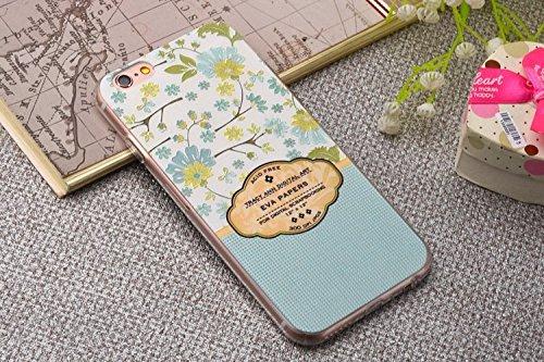 """CX iPhone 3S/iPhone 6, 4.7""""iPhone 6S Plus/iPhone 6Plus 14cm Étui de protection peint à la main Relief Gel TPU Coque arrière en silicone souple pour iPhone 3S/iPhone 611,9cm iPhone 6S Plus/iPhone  - orchidée"""