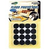 Primeway Furniture Floor Protector, Dia 20mm, 32 Pcs Set