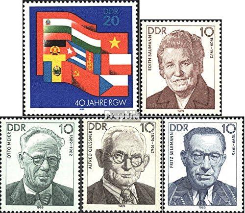 DDR 3221,3222-3225 (complète.Edition.) 1989 économique, MouveHommes t B073QNWWJV Ouvrier (Timbres pour Les collectionneurs) B073QNWWJV t 4f4890