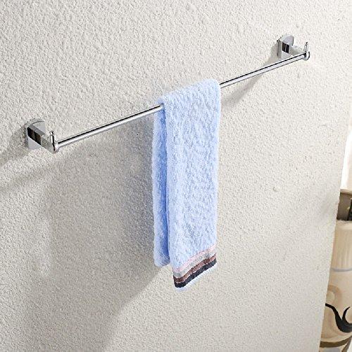 ZHGI Portasalviette rame leva singola bagno accessori hardware accessori per bagno Asciugamani con