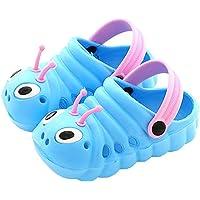 Sandali per Bambini Cuddly Pantofole Antiscivolo con Animati Caterpillar Scarpe da Bagno per Bambini