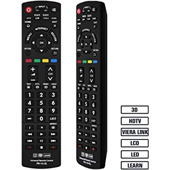 Rask Panasonic Genuine Remote Control N2QAYB000752, fits: Amazon.co.uk SI-43