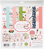 CARTA Bella Papier Company cbrbg63016Rock-a-Bye Girl Collection Kit