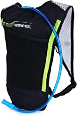 Zorbes ROSWHEEL 5L Bike Hydration Backpack Ultralight Multi-Functional Bicycle Bag with 2L Water Bladder