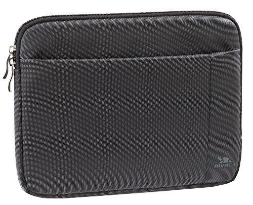 Riva Schutz Tasche Hülle Sleeve Case Cover mit Außenfach in Schwarz für Odys Iron
