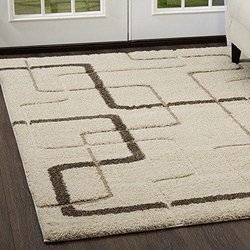 Brown Ivory-teppich (Home Dynamix Canyon Henderson Bereich Teppich Modern 31