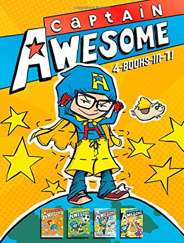 Captain Awesome 4-Books-In-1: Captain Awesome Takes a Dive; Captain Awesome, Soccer Star; Captain Awesome Saves the Winter Wonderland; Captain Awesome ... Spelling Bee (Captain Awesome (Hardcover))