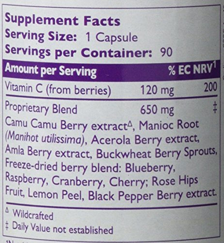 The Synergy Company Pure Radiance C Capsules, 90-Count