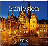 SCHLESIEN: Original Rautenberg-Stürtz-Kalender 2018 - Mittelformat-Kalender 33 x 31 cm -