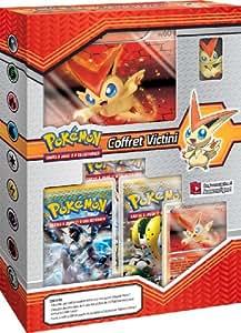 Pokémon - POKVICT - Jeu de cartes à jouer et à collectionner - Coffret Pokemon Victini + Figurine