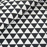 Canvas Geometrisch gemustert Baumwolle Stoff Meterware