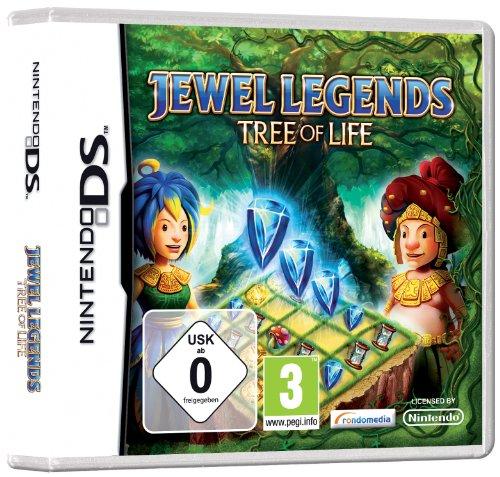Jewel Legends - Tree of Life (Ds Spiele Gesellschaftsspiele)