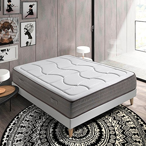 319 00 77 matelas borneo 180x200 mmoire de forme 27. Black Bedroom Furniture Sets. Home Design Ideas
