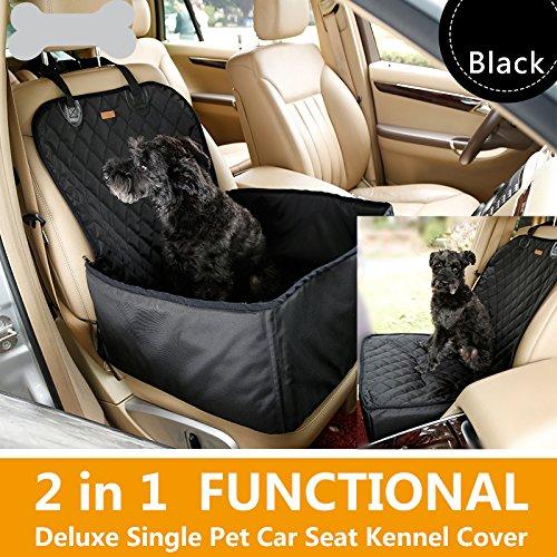 Hundetransportbox Autositzbezug Autoschutzdecke Hängematte Autositz für Haustier Hund Katze Pet Vodersitzbezug