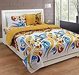 Desirica Ecstasy Cotton Double Bed Sheet...