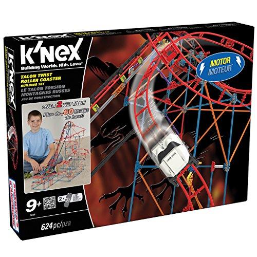 K'Nex 33488 - Talon Twist Coaster, Mehrfarbig