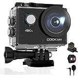 GOOKAM Go 2 Action Cam 4K 20MP onderwatercamera 40M waterdichte camera actiecamera WiFi helmcamera met 2.4G afstandsbediening