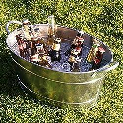 Cubo de cerveza Galvanizado Acero