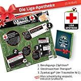 Geschenk-Set: Die Liga-Apotheke für St. Pauli-Fans | 3X süße Schmerzmittel für FC St. Pauli Fans Fanartikel der Liga, Besser ALS Trikot, Home Away, Saison 18/19 Jersey