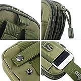 Overmont Multifunktional Taktisch Hüfttasche Gürteltasche Outdoor Sport Tasche Beutel für Camping Wandern Radfahren Klettern und Reisen -