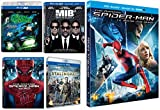 Découverte Blu-ray 3D - Action  5 Films :  The Amazing Spider-Man : Le destin d'un héros + The Amazing Spider-Man + Stalingrad + The Green Hornet + Men in Black 3...