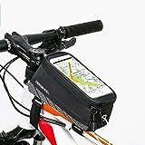 ieGeek Frame Bag lenkertasche Fahrradtasche mit Handy-Platz für Iphone 6 Plus 6S 6 5S 5SE SAMSUNG Galaxy S7 edge…