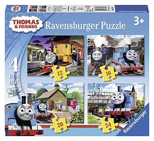 Ravensburger 07070 - Thomas & Friends Puzzle 4 in a Box