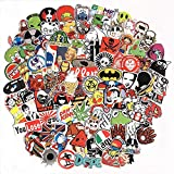 Pack of 50 - Laptop Stickers Car Motorcycle Bicycle Luggage Decal Graffiti Patches Skateboard Stickers for Laptop - Sticker Pack Model 4