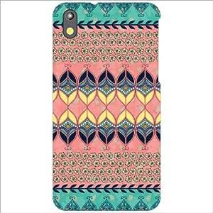 Design Worlds - HTC Desire 816G Designer Back Cover Case - Multicolor Phone...