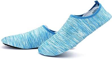 iClosam Scarpe da Scoglio per Uomo Aqua Calzini per Immersione Nuotare Spiaggia Surf