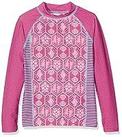 Fat Face Girl's Sea Geo Vest, Pink (Fuchsia), 8-9 Years