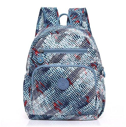 Wmshpeds Le donne 's spalle sacchi marea coreana Leisure Sport Viaggi zaino zaino borsa dello studente A