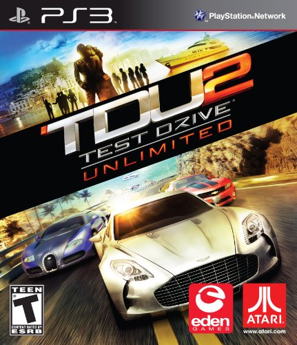 Test Drive Unlimited Playstation 3 US Version