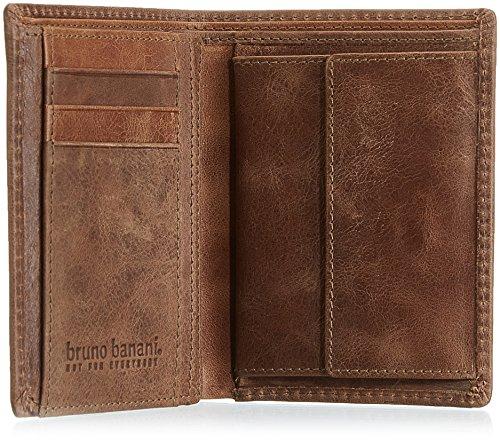 Bruno Banani VISTA_4_1 W 320.1427_Unisex-Erwachsene Geldbörsen 10x12x2 cm (B x H x T) Braun (braun_cognac)